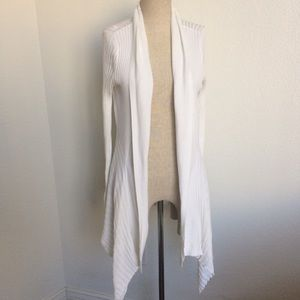 White Cover Up open Cardigan